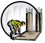 concrete icon for concrete quality control plan sample page