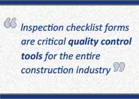 Construction Inspection Checklist Pull Quote