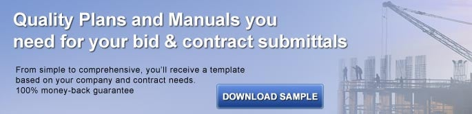 Construction Quality Control Plan Template Banner Image
