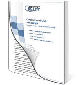 Specialty Contractor Quality Control Plan Image