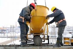 concrete pour image for concrete quality plan