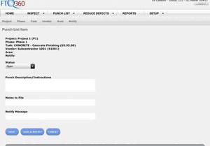FTQ360 Mobile Punch List Software