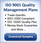 ISO 9001 Construction Quality Management Plans