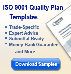 ISO 9000 Quality Management Plan Sample