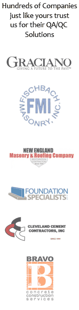 Our Customers Concrete Masonry Quality Control Plan Vertical