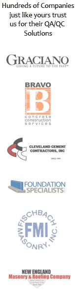 Concrete Quality Control Plan Customers
