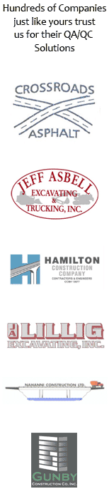 Our Road Construction Paving Asphalt Customers Vertical Logos