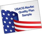 USACE Navfac contractor quality control plan sample