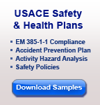 download usace safety and health plan sample