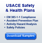 USACE-NAVFAC Safety and Health Plan Sample