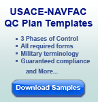USACE-NAVFAC QC Plan Sample