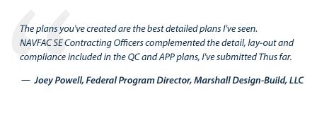 USACE-NAVFAC-Quality-Plan-Testimonial_Marshall-Design-Build