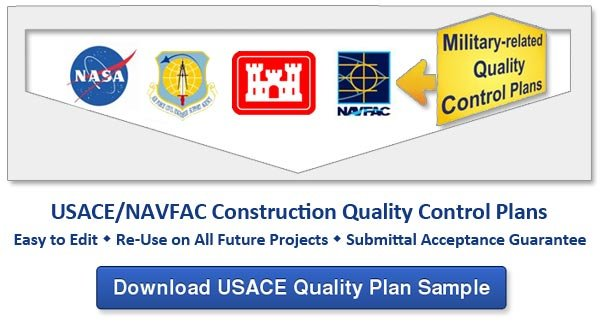 usace construction quality control plan download sample