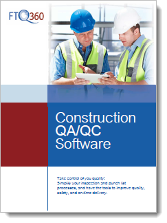 FTQ360 Inspection & Punchlist Software Brochure