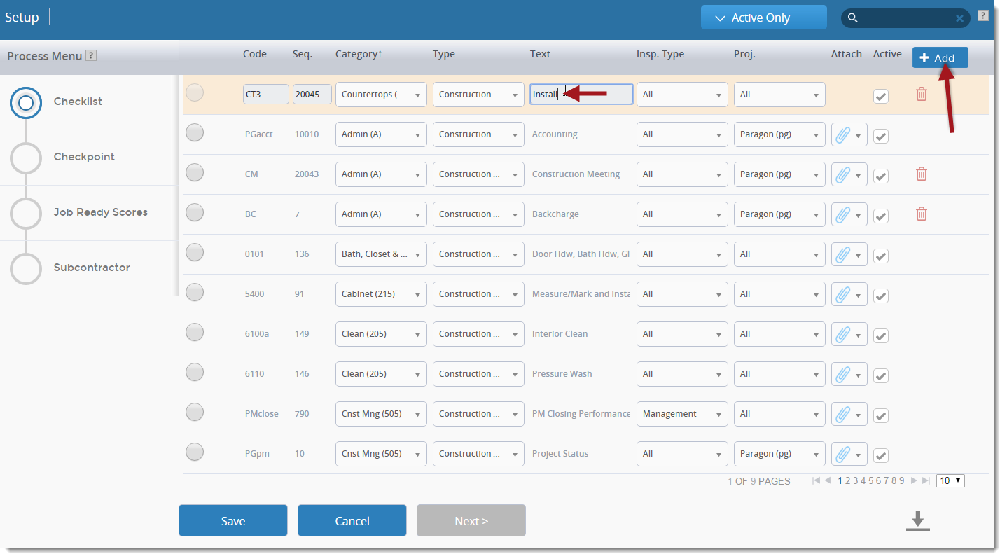 Construction Quality Mobile/iPad Punch List Software